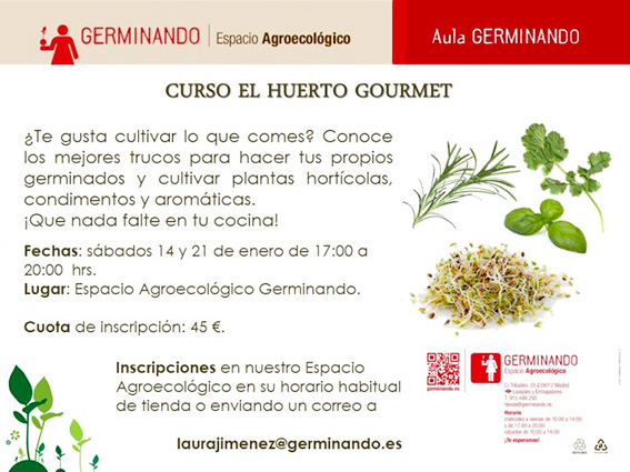 Curso El huerto Gourmet