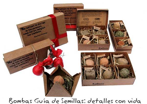 Cajas de bombas de semillas